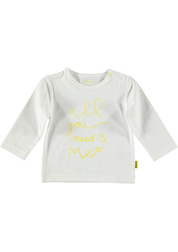 All you need is me T-shirt lange mouw Bess