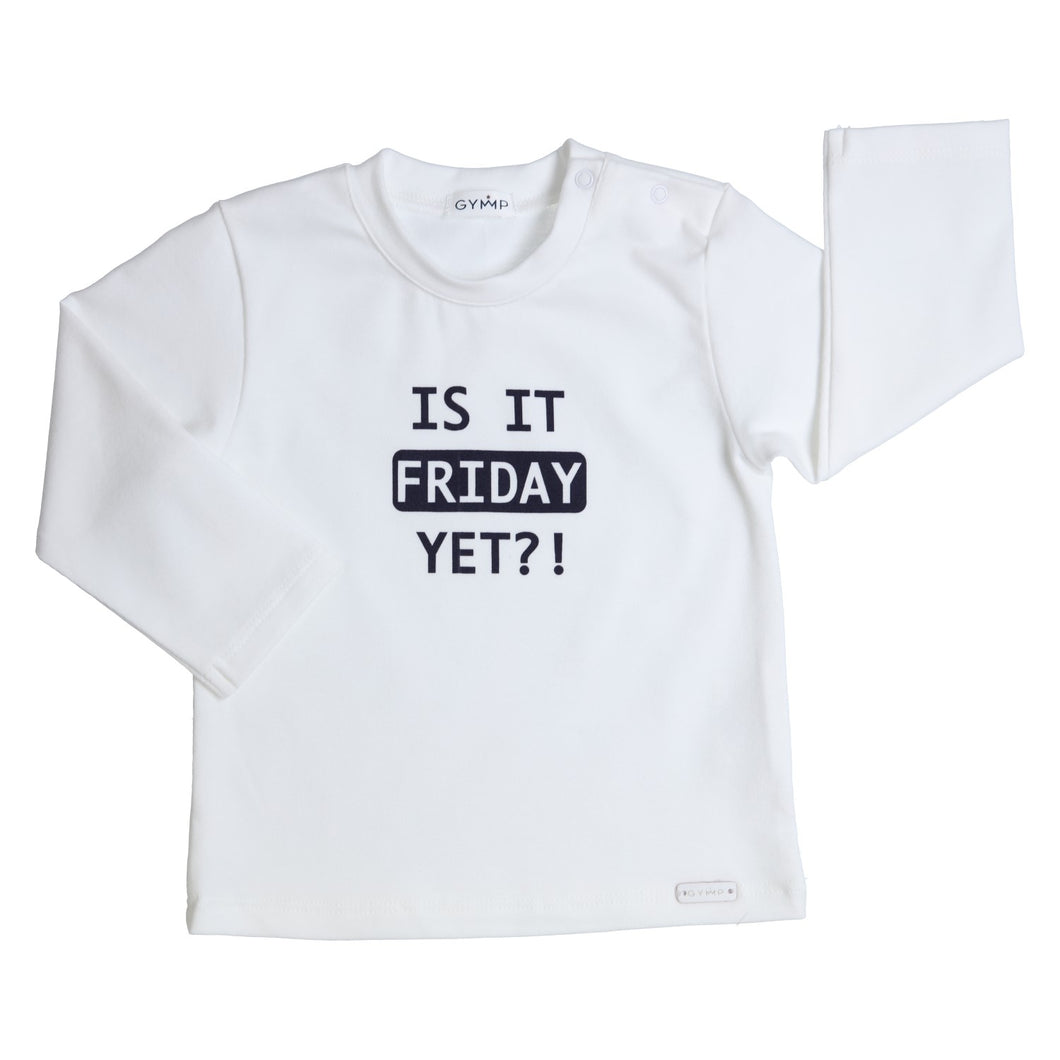 Is it friday yet T-shirt lange mouw Gymp