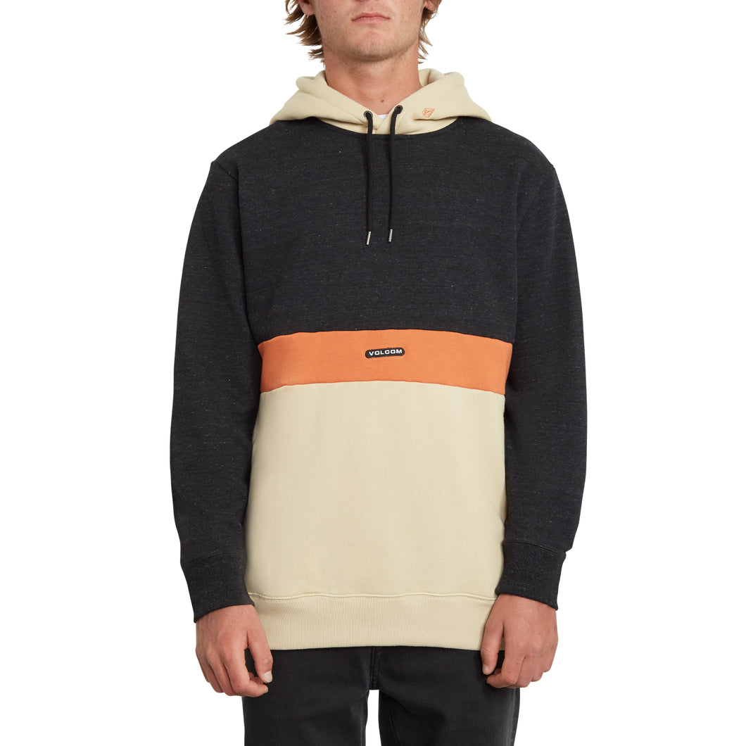 Single stn hood Sweater Volcom men