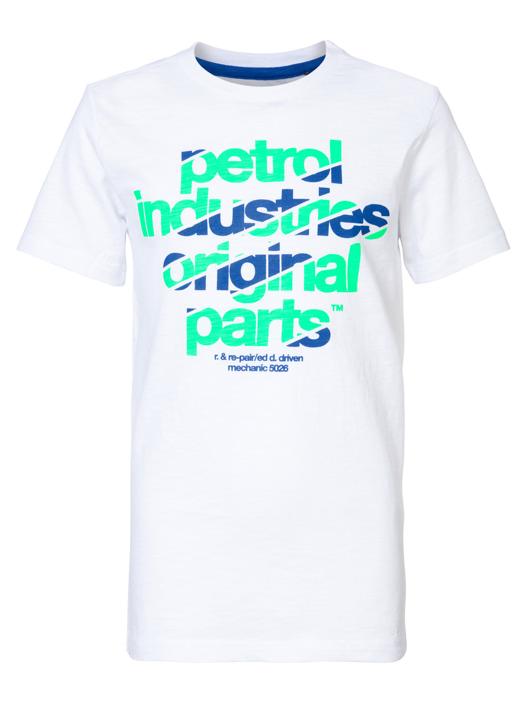Original parts T-shirt korte mouw Petrol