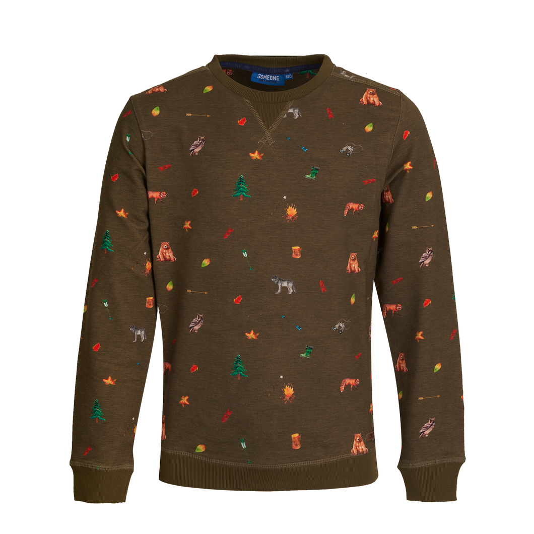 Camping Sweater Someone