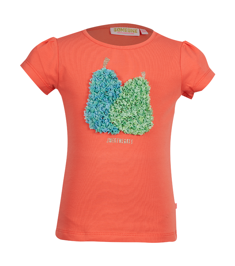 Perry T-shirt korte mouwen Someone