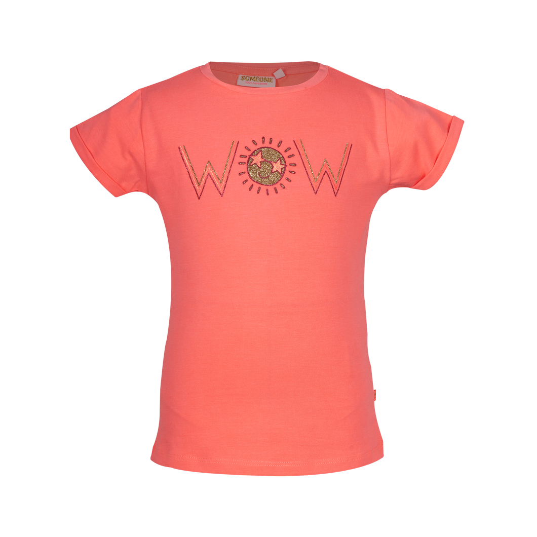 Sunset T-shirt korte mouwen Someone