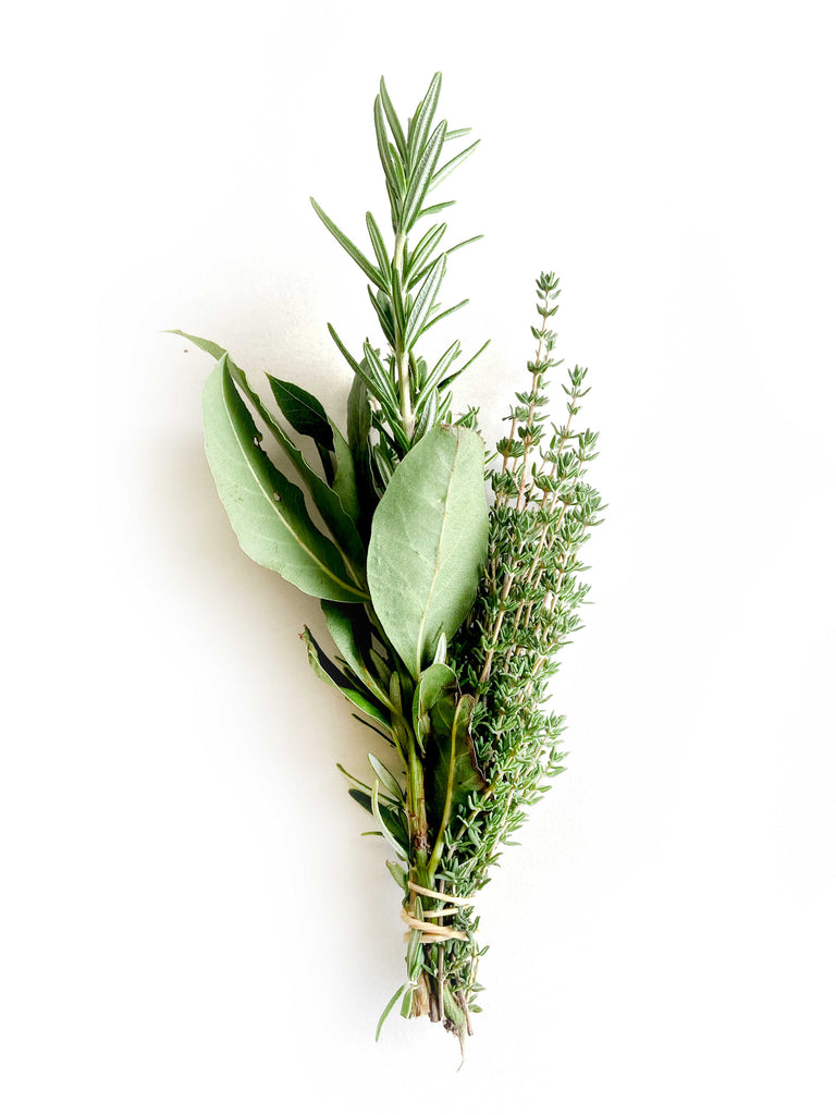 Winter Herbs Bouquet - The Falls Farm