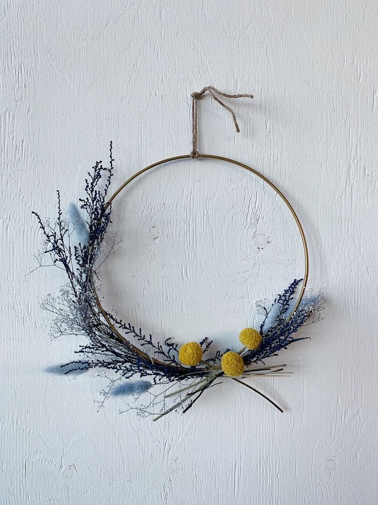 Blue wreath