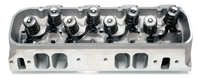 Edelbrock/Musi Victor 24-degree CNC large oval port head is fully CNC machined and assembled for 950-plushp potential right out of the box. (Photo Courtesy Edelbrock)