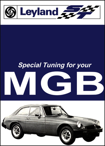 Image of MG MGB Tourer & GT Special Tuning Handbook