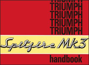 Image of Triumph Spitfire Mark 3 Owner's Handbook