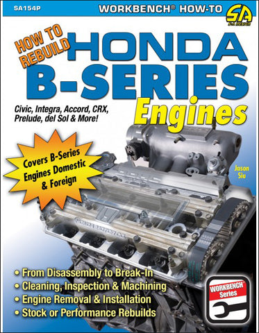 Image of How to Rebuild Honda B-Series Engines