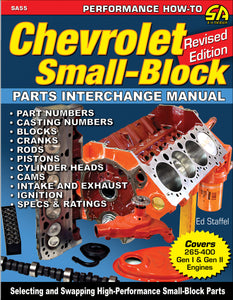 Chevrolet Small-Block Parts Interchange Manual - Rev Ed