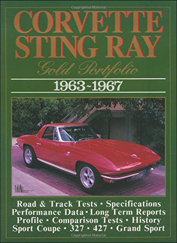 Image of Corvette Stingray Gold Portfolio 1963-1967