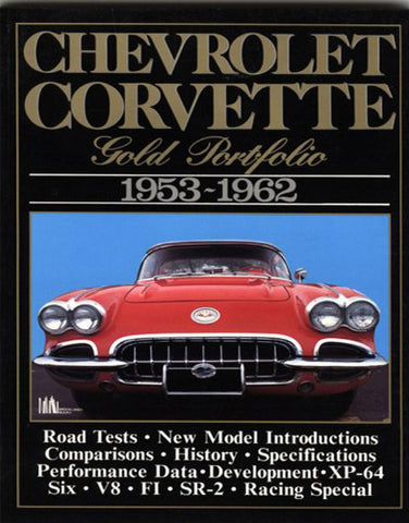 Image of Corvette Gold Portfolio 1953-1962