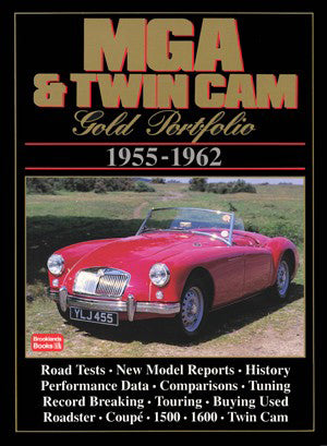 Image of MGA & Twin Cam Gold Portfolio 1955-1962
