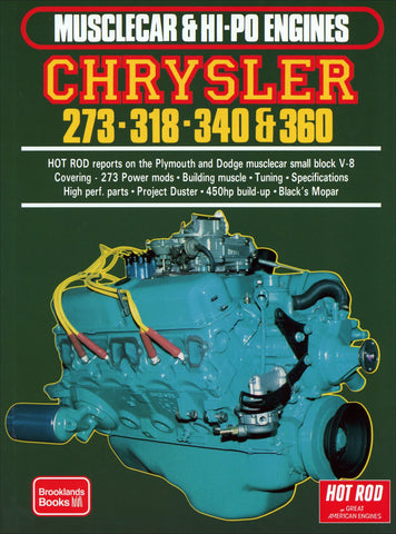 Chrysler 273 - 318 - 340 & 360 Musclecar & Hi-Po Engines