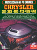 Chrysler 361 - 383 - 400 - 413 - 426 - 440 Musclecar & Hi-Po Engines