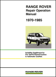 Range Rover Repair Operation Manual 1970-1985
