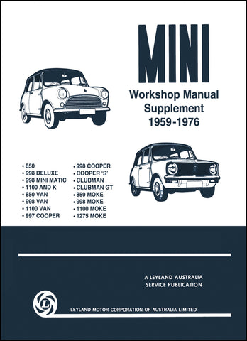 Mini Workshop Manual