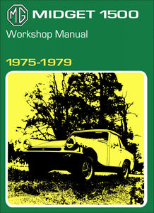 MG Midget 1500 Workshop Manual 1975-1979