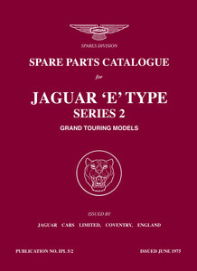 Jaguar E-Type Series 2 Spare Parts Catalog
