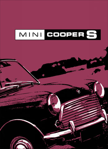 Mini Cooper S Mark 3 Owner's Handbook
