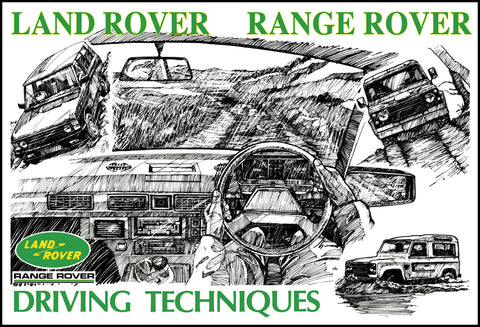 Image of Land Rover & Range Rover Driving Techniques