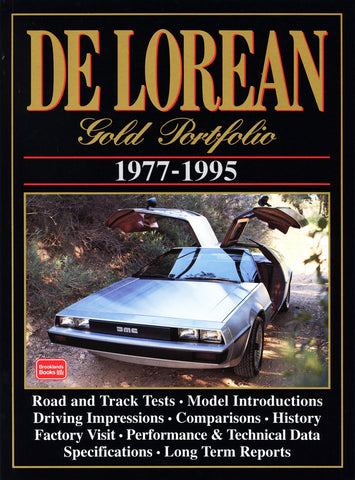 Image of Delorean Gold Portfolio 1977-1995