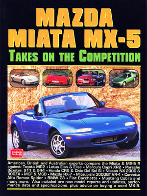 Image of Mazda Miata MX-5 Takes On the Competition