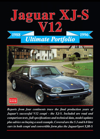 Image of Jaguar XJS V12 Ultimate Portfolio 1988-1996