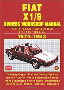 Fiat X1/9 Owners' Workshop Manual 1974-1982