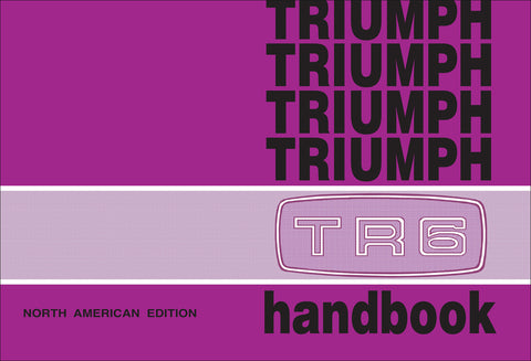 Image of Triumph TR6 Owner's Handbook (US Edition)