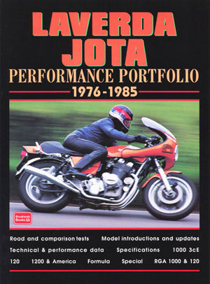 Image of Laverda Jota Performance Portfolio 1976-1985