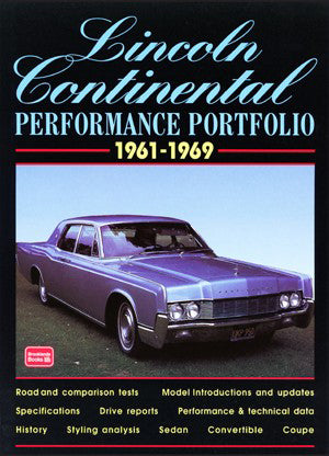 Image of Lincoln Continental Performance Portfolio 1961-1969