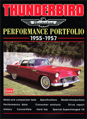 Thunderbird Performance Portfolio 1955-1957