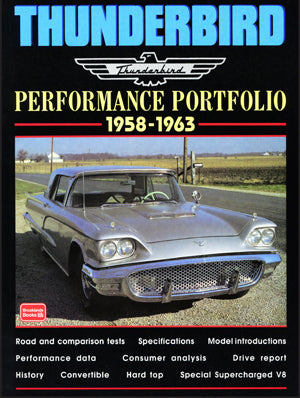 Image of Thunderbird Performance Portfolio 1958-1963