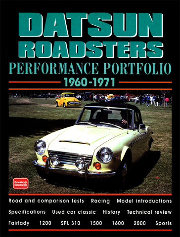 Image of Datsun Roadsters Performance Portfolio 1960-1971