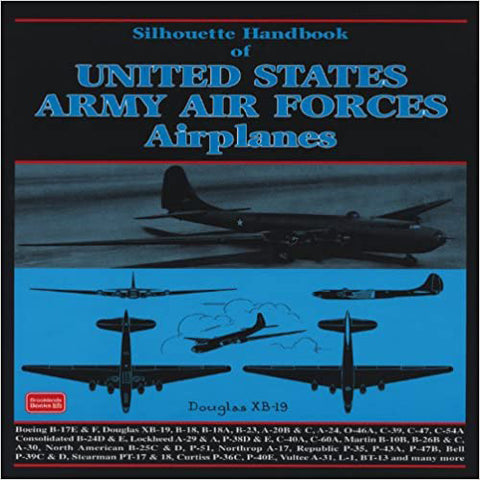 Image of Silhouette Handbook of United States Army Air Forces Airplanes