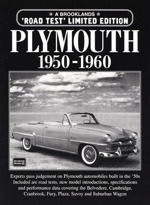 Image of Plymouth Limited Edition 1950-1960