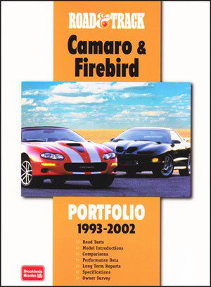 Image of Camaro and Firebird Road & Track Portfolio 1993-2002