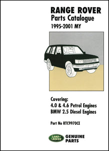 Range Rover Parts Catalog 1995-2001 MY