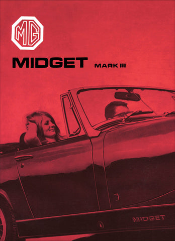 Image of MG Midget Mark 3 Driver's Handbook (US Edition) 1967-1972