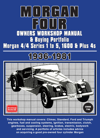 Morgan Four Owner's Workshop Manual & Buying Portfolio 1936-1981