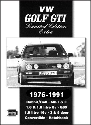 Image of VW Golf GTI Limited Edition Extra 1976-1991