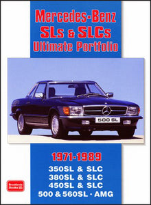 Mercedes SLS & SLC Ultimate Portfolio 1971-1989