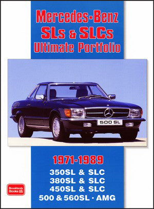 Image of Mercedes SLS & SLC Ultimate Portfolio 1971-1989