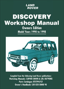 Land Rover Discovery Workshop Manual 1990-1998