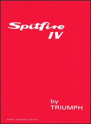 Image of Triumph Spitfire 4 Owner's Handbook (US Edition)