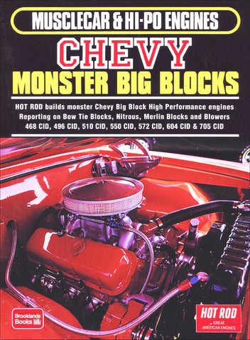 Chevy Monster Big Blocks Musclecar & Hi-Po Engines