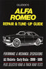 Glenn's Alfa Romeo Repair & Tune-Up Guide: Performance & Mechanical Specs