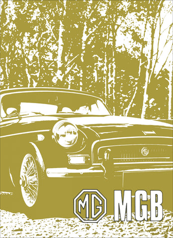 Image of MG MGB Tourer & GT Driver's Handbook (US Edition) 1971