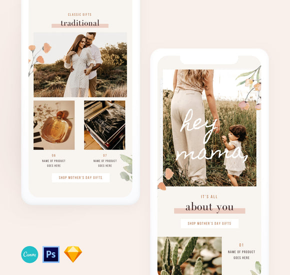 mothers day email design template